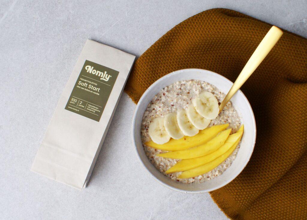 Overnight oats kokos mango